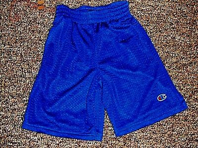 4f3561ad0e62d Champion Unisex Youth Size S (5-6) Polyester Navy Blue Shorts Everyday Or