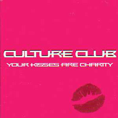 CULTURE CLUB  CD single Your kisses are charity NEW SEALED PROMO