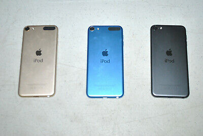 Apple iPod touch 6th Generation 16GB, Space Gray Blue Gold as-is parts repair