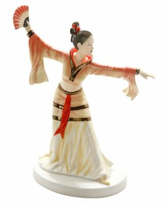 Chinese Fan Dance HN5568 Royal Doulton Dances Of The World Figurine