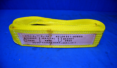 NYLON CRANE LIFTING SLING EE1-903x12 USED EXCELLENT CONDITION