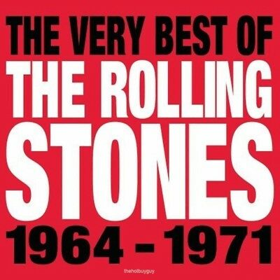 The Very Best of the Rolling Stones 1964-1971 by Rolling Stones (CD Apr-2013)NEW