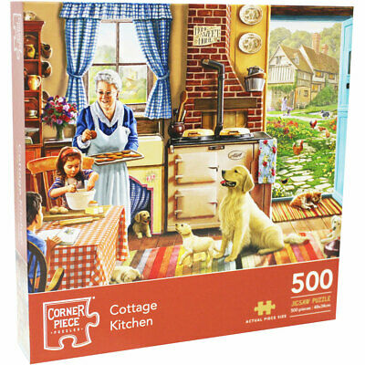 Cottage Kitchen 500 Piece Jigsaw Puzzle, Toys & Games, Brand New