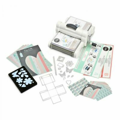 Sizzix Big Shot Plus Starter Set DIN A4 Stanzmaschine Prägemaschine 661546