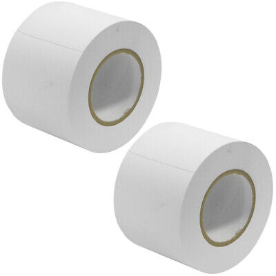 2 Pack of Gaffer's Tape - White 4 inch Rolls 60 Yards per Roll Gaffers Tape