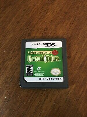Professor Layton and the Unwound Future (Nintendo DS, 2010) Cartridge Only