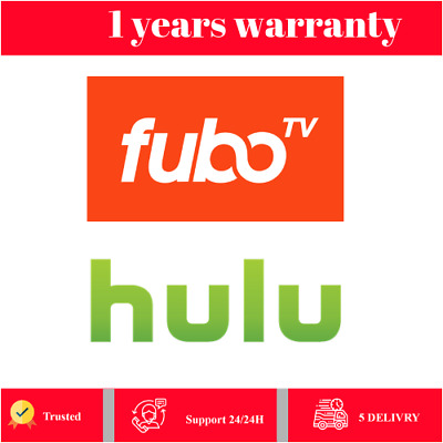 Fubo TV Account 1 Year Warranty - INSTANT DELIVERY  + Hulu no commercial 🌟