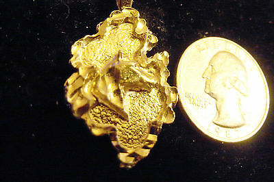 bling gold plated horse head lucky nugget pendant charm hip hop necklace jewelry