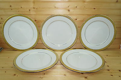 Centurion Collection Pure Gold (5) Dinner Plates, 10 3/4""