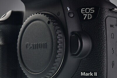 Canon EOS 7D Mark II 20.2MP Digital Camera Body Excellent
