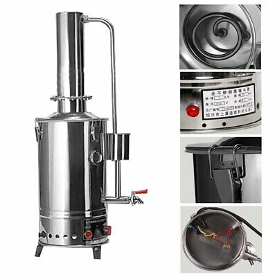 5L Litres Normal Type New Stainless Electric Medical/Home/Lab Pure Water Distill