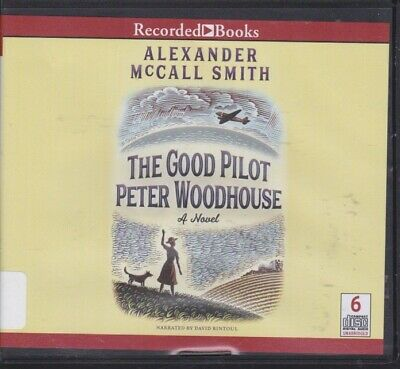 THE GOOD PILOT PETER WOODHOUSE by ALEXANDER MCCALL SMITH~UNABRIDGED CD AUDIOBOOK