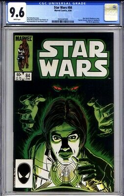 STAR WARS #84 CGC 9.6 (1st print, 1984) white pages (Han Solo cover) tough in HG