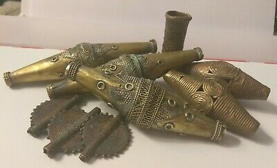 Antique Vintage Middle Eastern Moroccan Metal Work Pieces