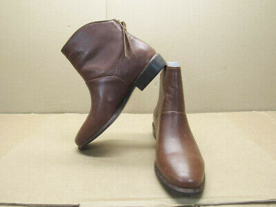 8f9455800e7 UGG WOMENS BRUNO Ankle Bootie Mid Brown Leather Size 6 M US - $39.00 ...