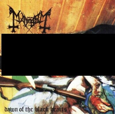 MAYHEM - Dawn of Black Heart CD