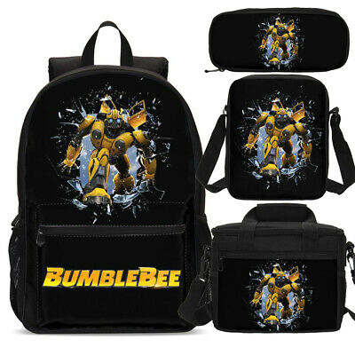 """Big Boys Transformers Bumblebee /""""Mission Complete!/"""" Large Backpack"""