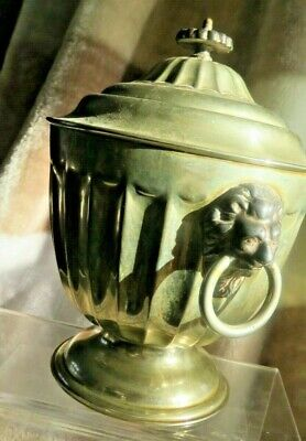 Urn Lion Handles E.P.N.S With Hardened Metal Fittings Sheffield  - FREE POST UK