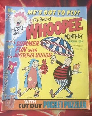 The Best Of Whoopee Monthly Comic. August 1989. Fn+ Lovely Condition.
