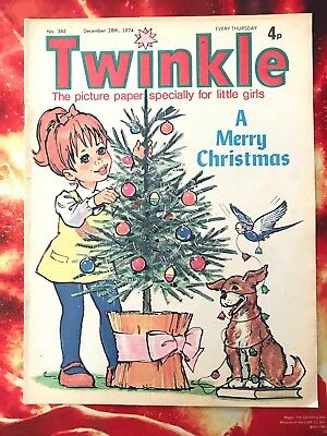Twinkle  Comic No. 362. 28 Dec 1974. Christmas Issue. Puzzles Not Done. Fn+