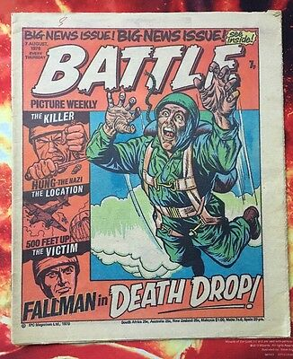 BATTLE COMIC Picture Weekly 7 AUGUST 1976. FN+