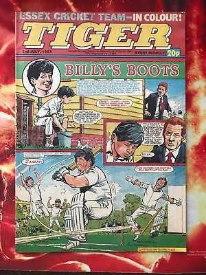 Tiger Comic. 2 July 1983. Nr Mint. Unsold/unread Newsagents Stock.