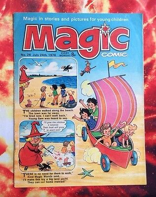 Magic Comic. No. 26.  24 July 1977. Fn. Childrens Comic.