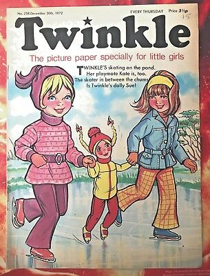 Twinkle  Comic No. 258. 30 Dec 1972. New Year Issue. Puzzles Not Done. Vfn