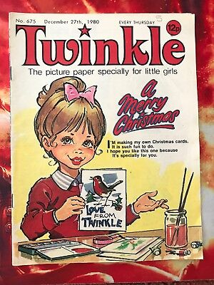 Twinkle  Comic No. 675. 27 Dec 1980. Christmas Issue.  Vfn