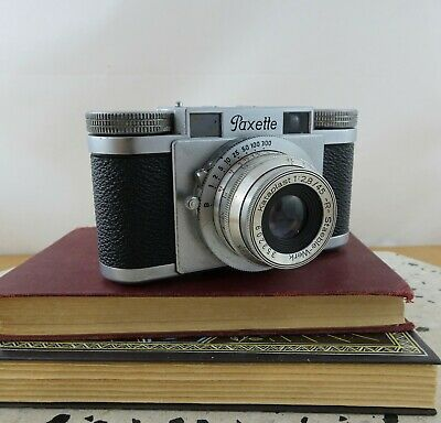 Vintage Braun Paxette 35mm Viewfinder Camera Made in Germany