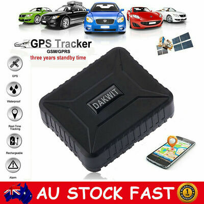 Long Life Car GPS Tracker GSM GPRS Anti Theft Realtime Tracking Device Locator
