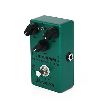 Upgraded Effect Pedal Hand-made Tube Green TS9 Screamer 2in1 Hot Sale Premium