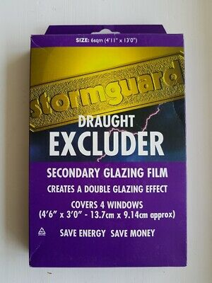 uk availability 88484 20c9e SEASONAL DOUBLE GLAZING Film kit draught excluder for ...