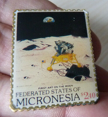 Pin's Ptt Timbre Poste Usa Micronesia