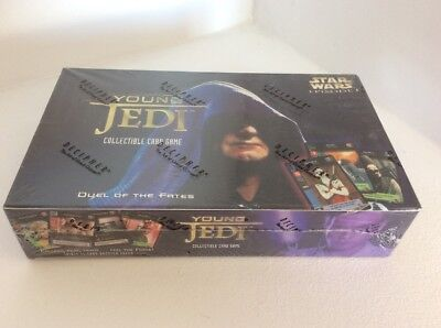 Star Wars Young Jedi CCG Duel Of The Fates Sealed Booster Box Factory Sealed