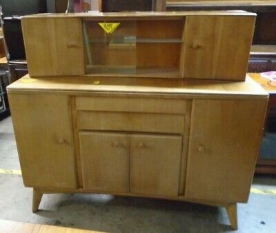 Mid-Century 1960's NATHAN FURNITURE Danish Style Sideboard Cocktail Cabinet  W52