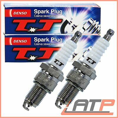 2X Denso Spark Plugs Twin Tip Audi A6 4A C4 2.0 94-97 Coupe 1.6-2.0 80-96