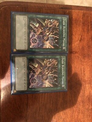 YUGIOH! 2 Dark Burning Magic LDK2-ENS05 - Secret Rare - Limited Edition NM!