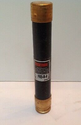 NEW Bussmann Buss FRSR-4 Time Delay Fuse FRS-R-4