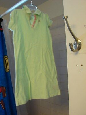 George Girls Size 7-8 Medium A Line Dress In Mint Green And Pink Really Pretty