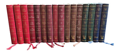 INSTANT LIBRARY Choose How Many Books - Readers Digest Leather Gilt Gold Vintage
