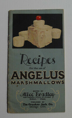 1900's Angelus Marshmallows / Cracker Jack recipes booklet