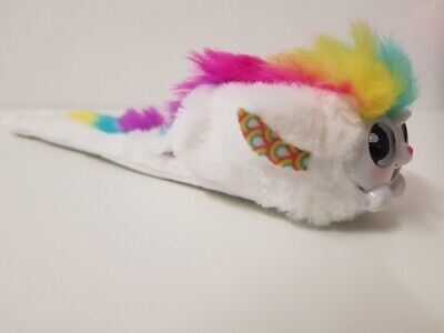Wrapples White Una Interactive Light Up Singing Little Live Pets Toy