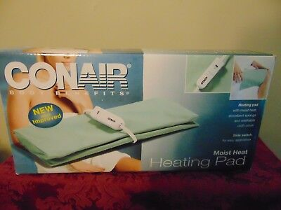 """Conair Moist sponge 11.5"""" × 13.5"""" Size Heating Pad therapy with Automatic Off"""