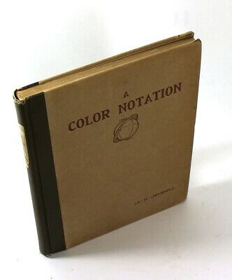 1905- COLOR NOTATION: A MEASURED SYSTEM-Art Instruction, Painting