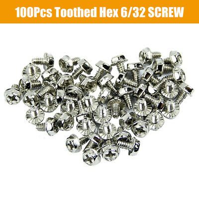 Motherboard Screws 180 Toothed Hex W6#X5//32M Computer PC Case,Hard Drive