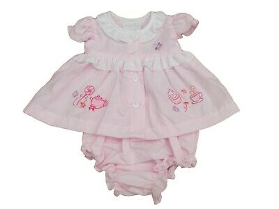 BNWT Tiny Premature Preemie Baby Girls pretty summer dress outfit 3-5lb & 5-8lb