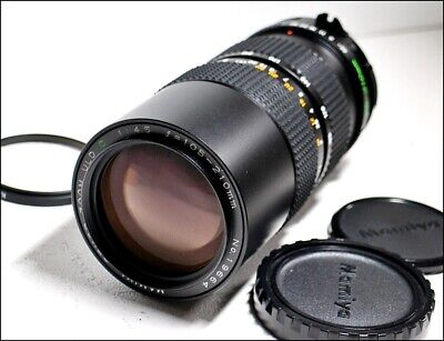 【MINT】 Mamiya Sekor ZOOM ULD C 105-210mm F4.5 Lens for M645 645 from Japan 1084