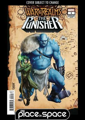 War Of The Realms: Punisher #1B - Connecting Realm Variant (Wk16)