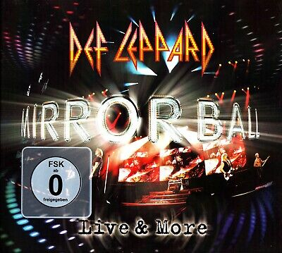 DEF LEPPARD- MirrorBall Live And More 2-CD & DVD (2011) The Best of IN CONCERT